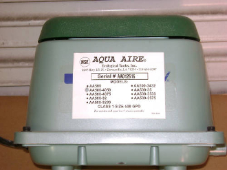 Aqua-Aire AA-500 Diaphragm Diaphram Repair Rebuild Kit DIY!